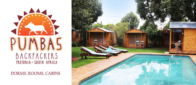 PUMBAS BACKPACKERS, HATFIELD PRETORIA