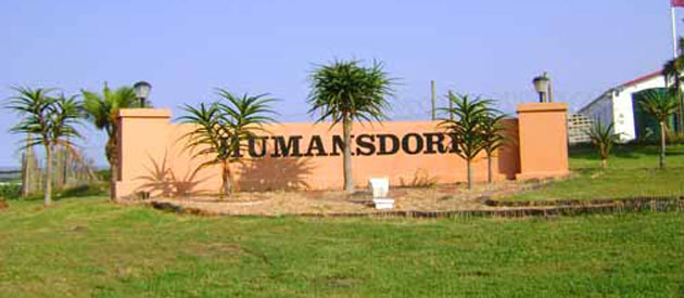 Humansdorp, in the Eastern Cape province of South Africa